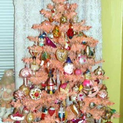 1950's Pink Feather Tree - need I say more?